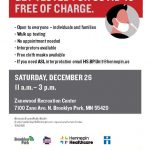 GET TESTED FOR COVID-19 FREE OF CHARGE